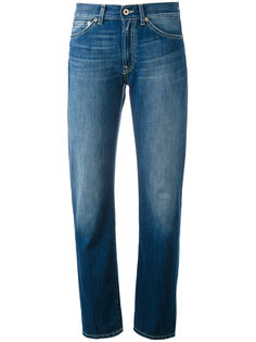 зауженные джинсы с подвернутыми манжетами Dondup