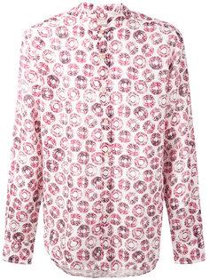 рубашка с узором из кругов Xacus
