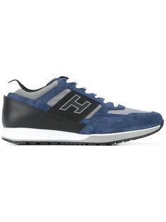 кроссовки со шнуровкой и логотипом Hogan