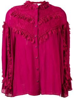 блузка с оборкой  Koche
