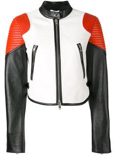 байкерская куртка колор блок  Givenchy