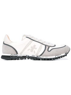кроссовки с графическим принтом на подошве Premiata