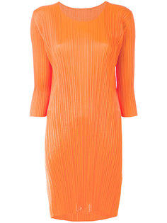 плиссированное платье шифт Pleats Please By Issey Miyake