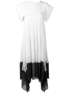 асимметричное платье-шифт Chloé