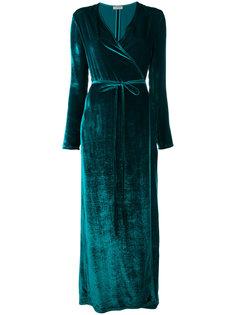 бархатное платье Raquel Attico