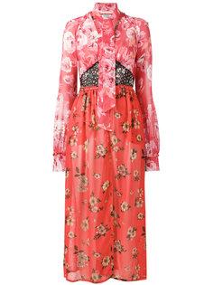 платье с принтом beatriz Attico