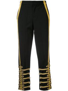 прямые брюки в стиле милитари A.F.Vandevorst