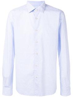 рубашка с узором из квадратов Xacus
