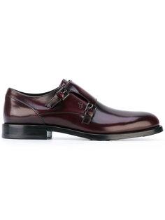 туфли с ремешком в стиле монков  Tods Tod`S