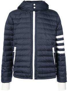 куртка-пуховик с полосами Thom Browne
