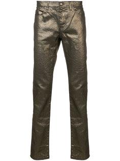 джинсы с заниженной талией Saint Laurent
