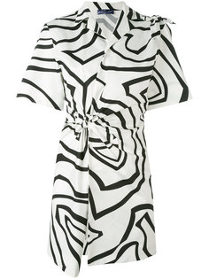 платье с узлом спереди Emilio Pucci