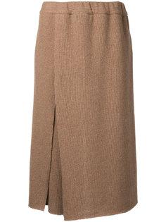 брюки-юбка с завышенной талией Osakentaro