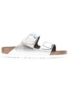 сандалии с отделкой металлик Birkenstock