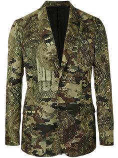 пиджак с камуфляжным принтом Givenchy