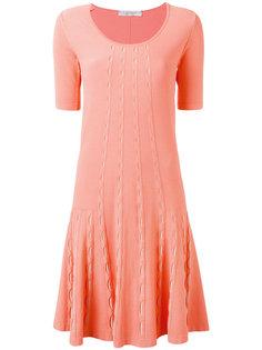 расклешенное трикотажное платье  D.Exterior