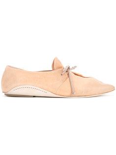 туфли с заостренным носком  Marsèll