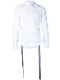 рубашка с полосатой манишкой Consistence