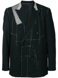 пиджак асимметричного кроя Consistence