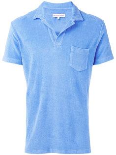 футболка-поло с накладным карманом Orlebar Brown