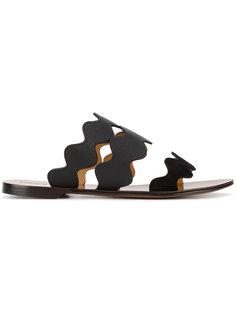 сандалии с ремешками Lauren Chloé