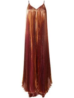 плиссированное платье  Maria Lucia Hohan