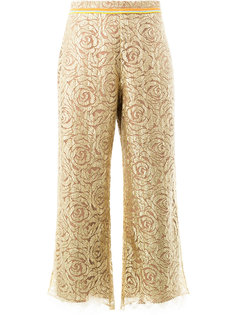 брюки с цветочным узором Peter Pilotto