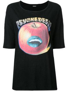 футболка с принтом яблока  Undercover