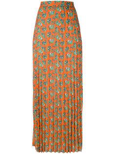 длинная плиссированная юбка House Of Holland