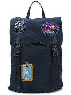 рюкзак с нашивками Versace