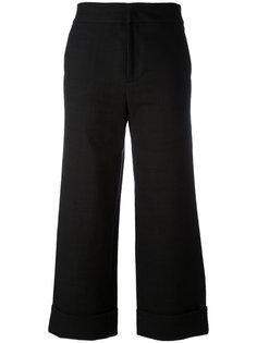 широкие укороченные брюки Pt01
