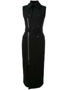 платье-тренч с поясом  Givenchy