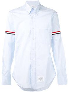 рубашка с полосками  Thom Browne