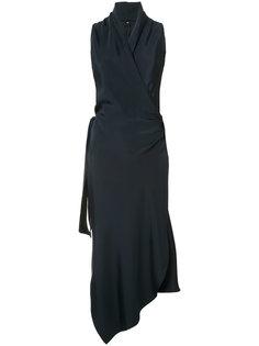 платье с запахом Victor Peter Cohen