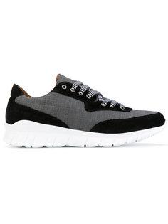 двухцветные кроссовки с панельным дизайном Paul & Joe