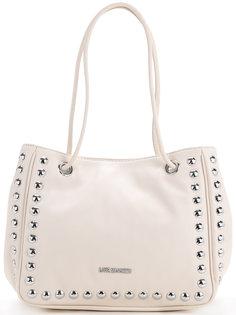 сумка на плечо с заклепками Love Moschino