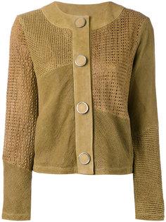 перфорированная куртка Drome