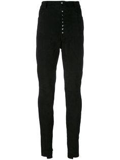 брюки с завышенной талией Manokhi