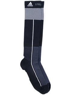 компрессионные носки в полоску Adidas By Stella Mccartney