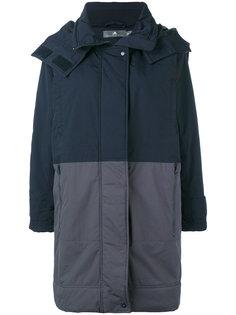 пальто с контрастными вставками Adidas By Stella Mccartney