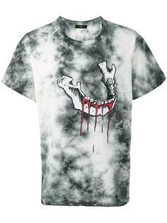 футболка с абстрактным принтом Amiri
