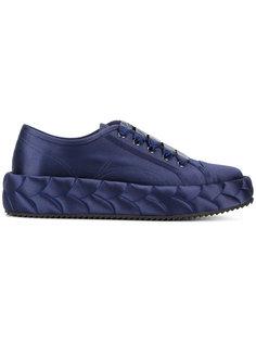 стеганые кроссовки на платформе Marco De Vincenzo