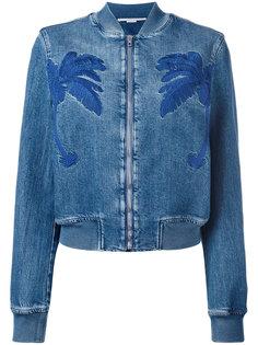куртка с вышитой пальмой Stella McCartney