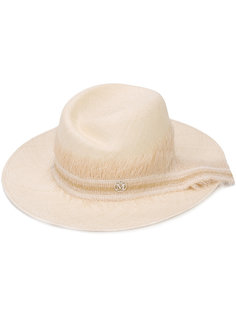 шляпа с необработанными краями Maison Michel