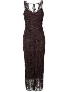 сетчатое платье Nina Ricci