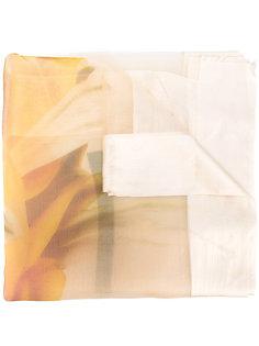 шарф с панельным дизайном Faliero Sarti