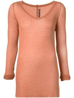 прозрачная вязаная блуза Rick Owens Lilies