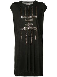 платье с узором из пайеток Rick Owens Lilies