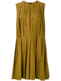плиссированное платье-шифт Marni