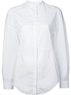 рубашка без воротника Courrèges